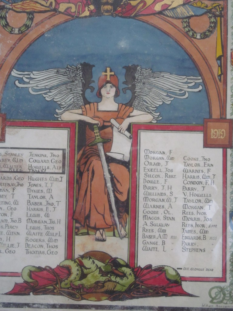 Noddfa Abersychan WW1 Roll of Honour (3)