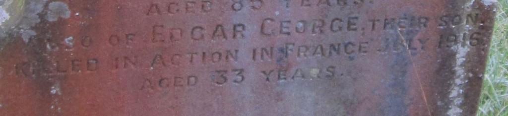 Edgar Gilbert grave